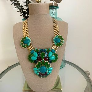 Banana Republic Statement Turquoise Necklace